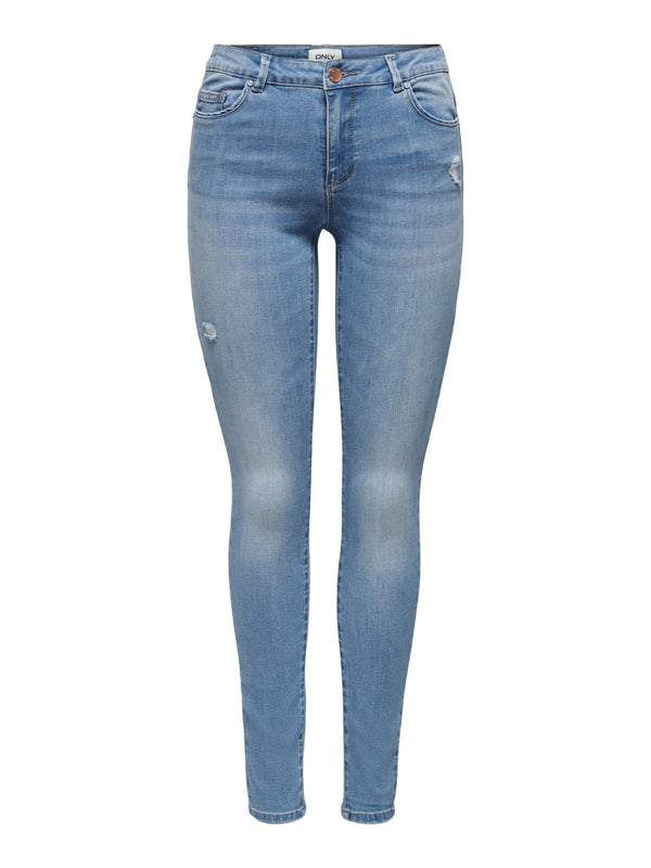ONLY Mauw Mid Rise Skinny Jeans - 32""