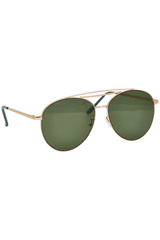 Nümph Green Aviator Sunglasses