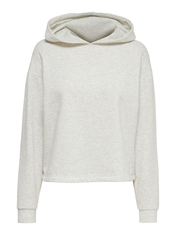 ONLY Comfy Loungewear Hoody Top - Oatmeal