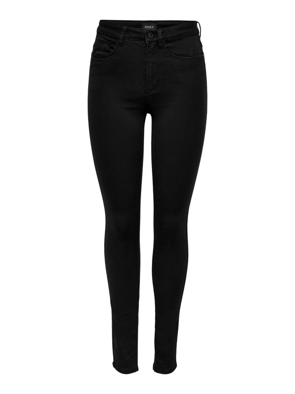 ONLY Royal High Waisted Skinny Jeans Black - 32""