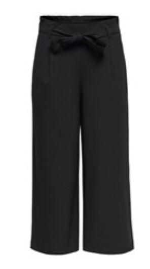 ONLY Hero Paperbag Culotte - Black