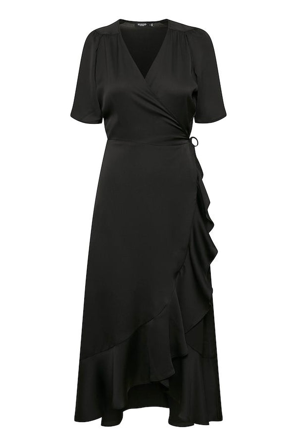Soaked in Luxury Karven Dress - Black