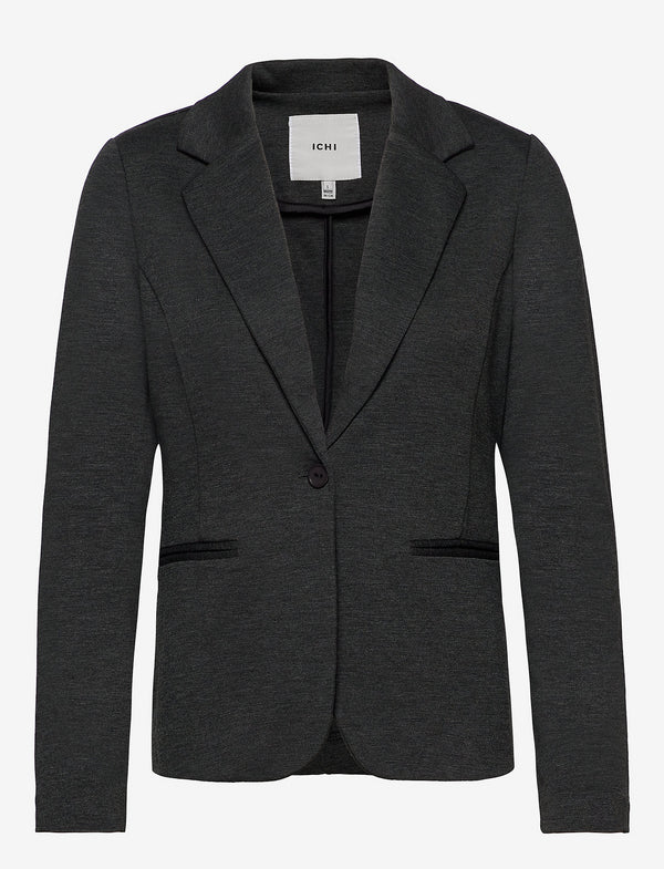Ichi Jennifer Blazer - Dark Grey