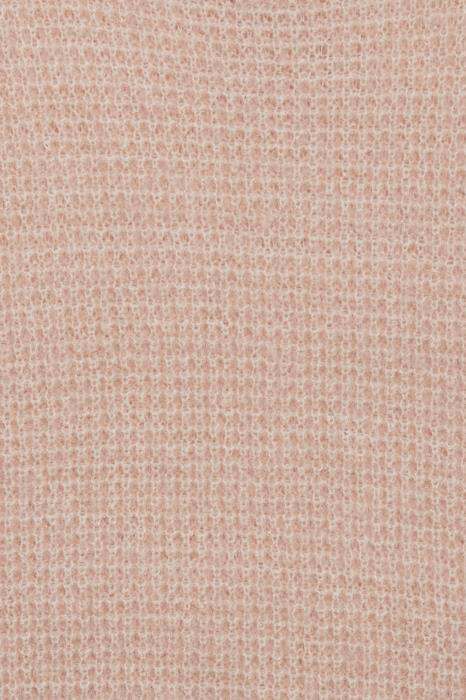 ICHI Dusty Chunky Jumper - Silver Pink