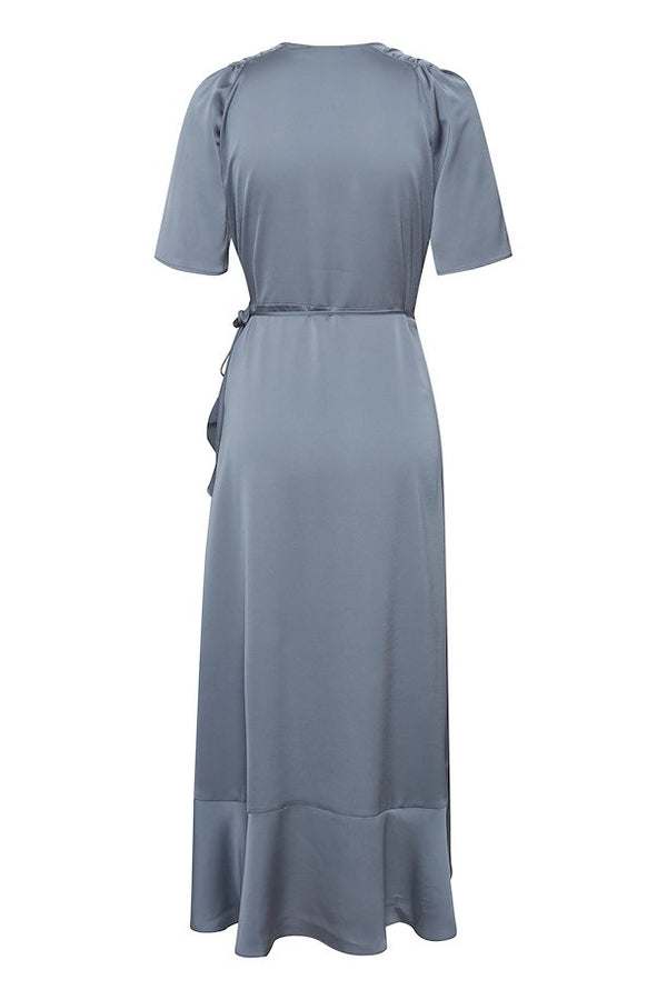 Soaked in Luxury Karven Dress - Flint Stone