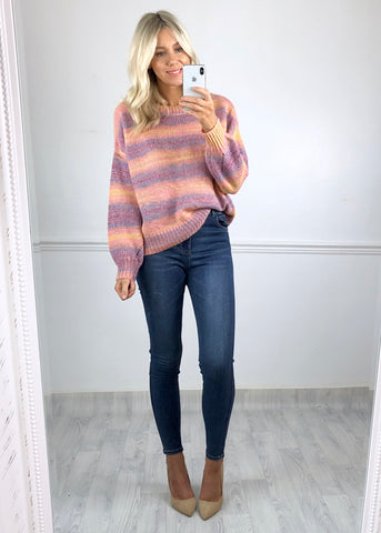 Noa Stripe Knitted Jumper
