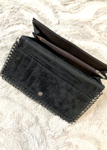 Milan Black Chain Purse