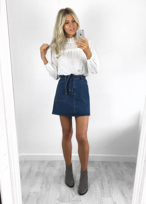 Urban Bliss - Andrea Denim Skirt