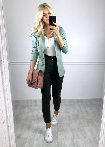 Avalynn Green Blazer