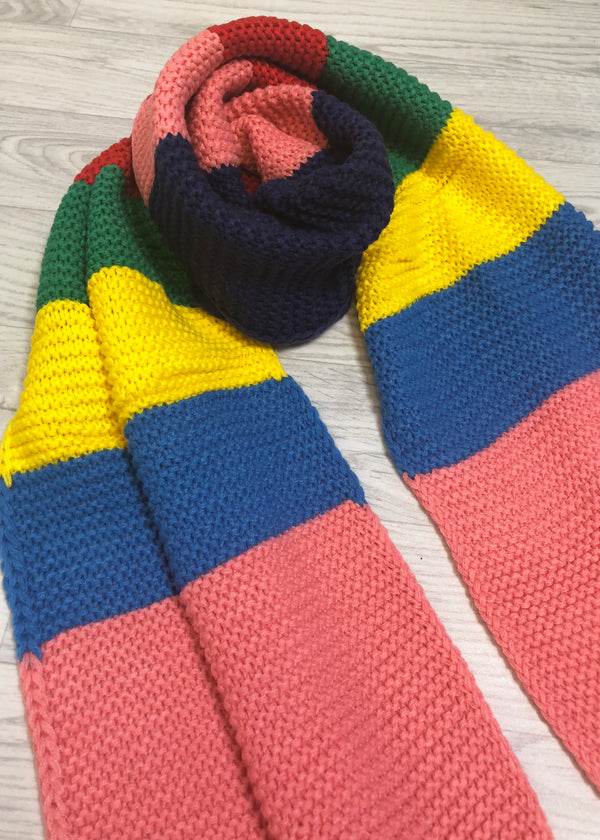 Nola Colour Block Scarf