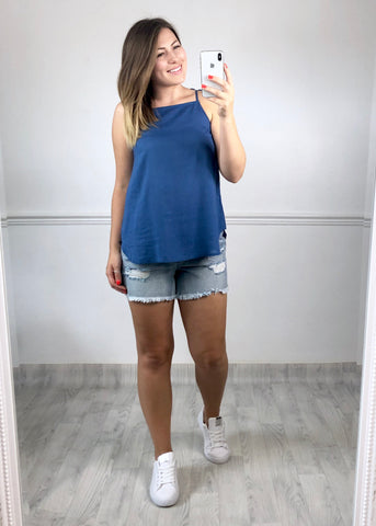 Estelle Blue Cami