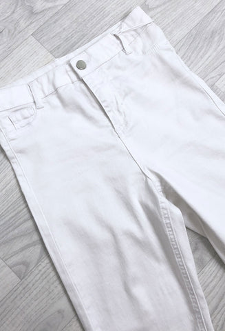 Lisbon Supersoft Skinny Jeans - White