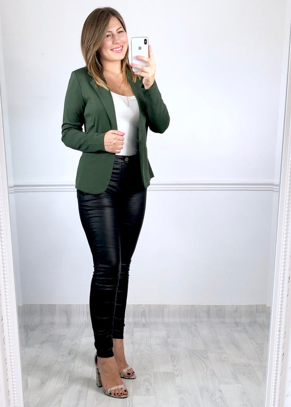 Jennifer Blazer - Olive Green