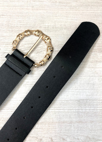 Sirius Buckle Belt - Black