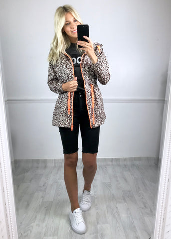 Brogan Leopard Raincoat