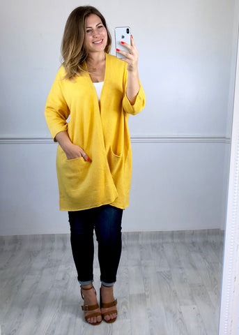 Nina Cardigan - Yellow