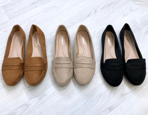 Gracie Loafers - Tan