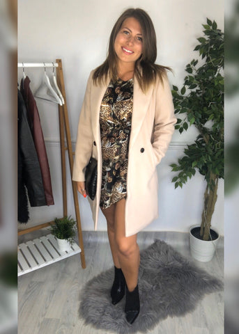 Eleanor Beige Coat