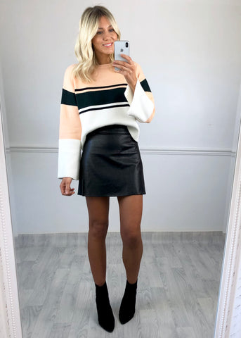 Lorna Striped Boxy Jumper
