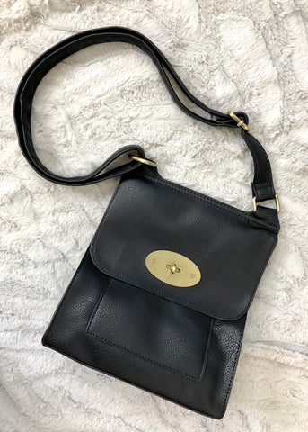 Sierra Cross Body Bag - Black