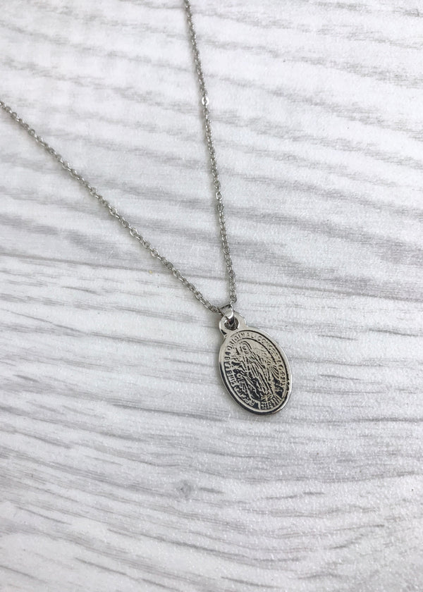 Fion Silver Religion Necklace
