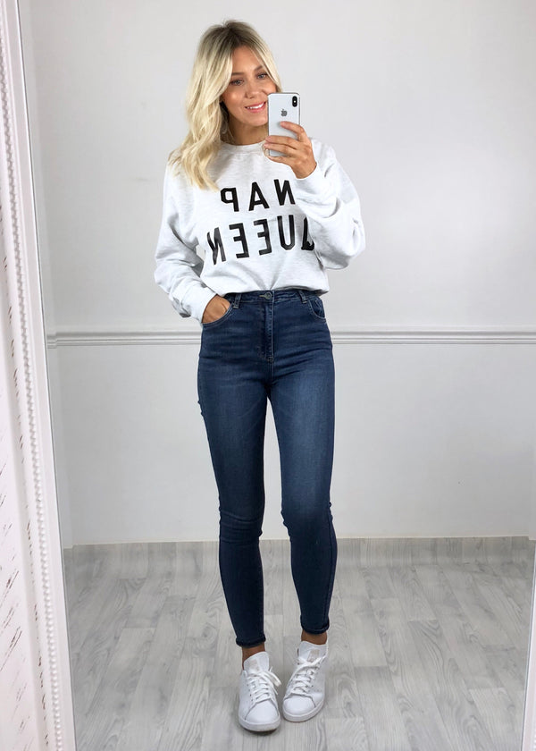Lexi Blue High-Waist Jeans