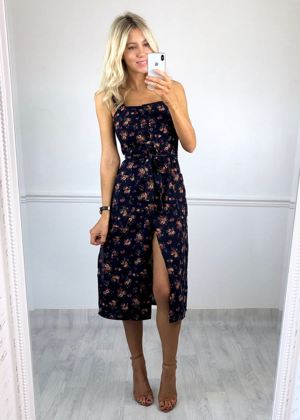 Albany Button Through Floral Dress