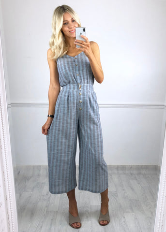 Blue Mirage Culottes