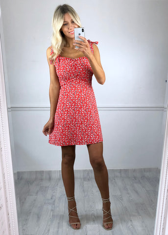 Darcey Ditsy Print Dress