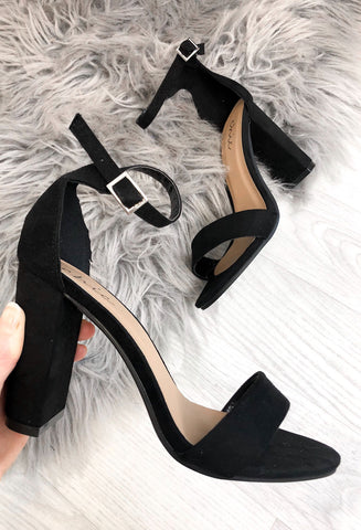Ramada Slim Heel Sandals - Black