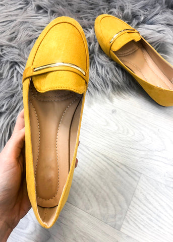 Alexa Loafers - Yellow