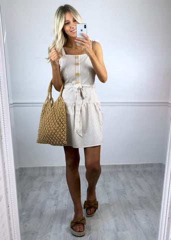 Hazel Button Down Mini Dress