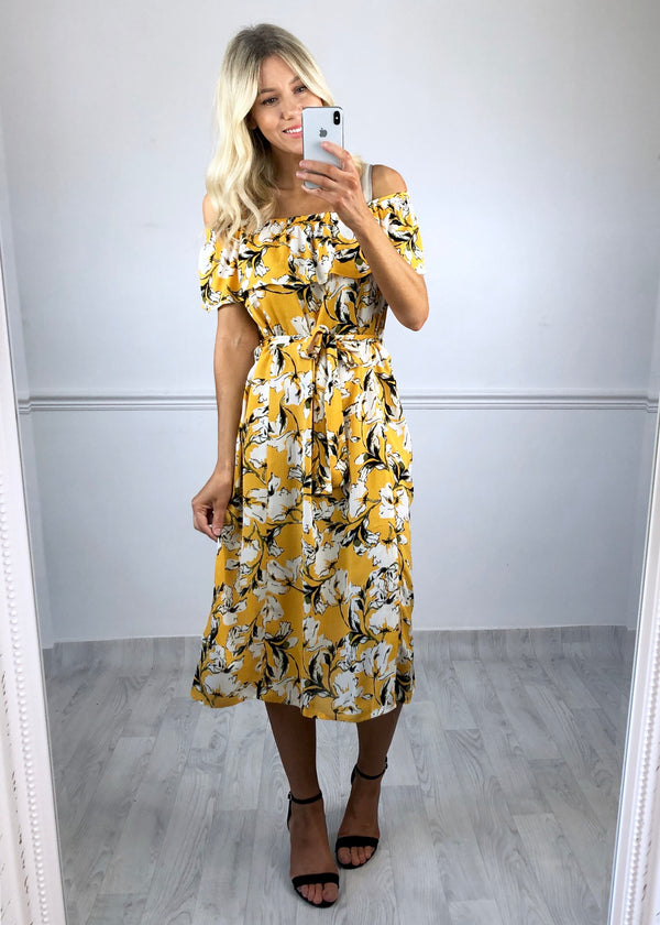 Marrakech Dress - Yellow Print