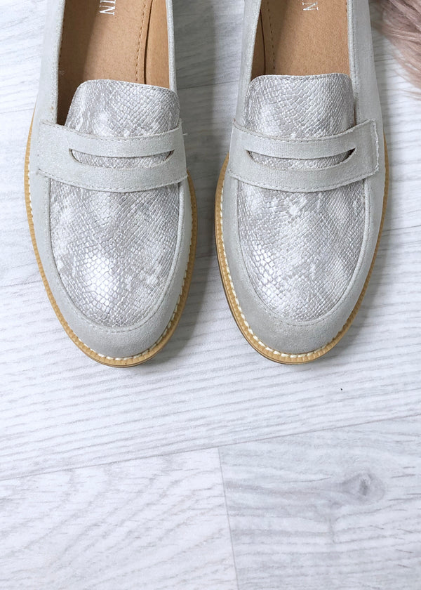 Serenity Loafers - Grey
