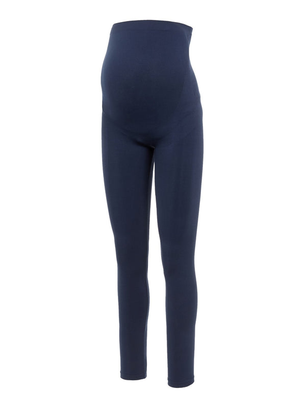 Mamalicious Jeanne Over the Bump Leggings - Navy