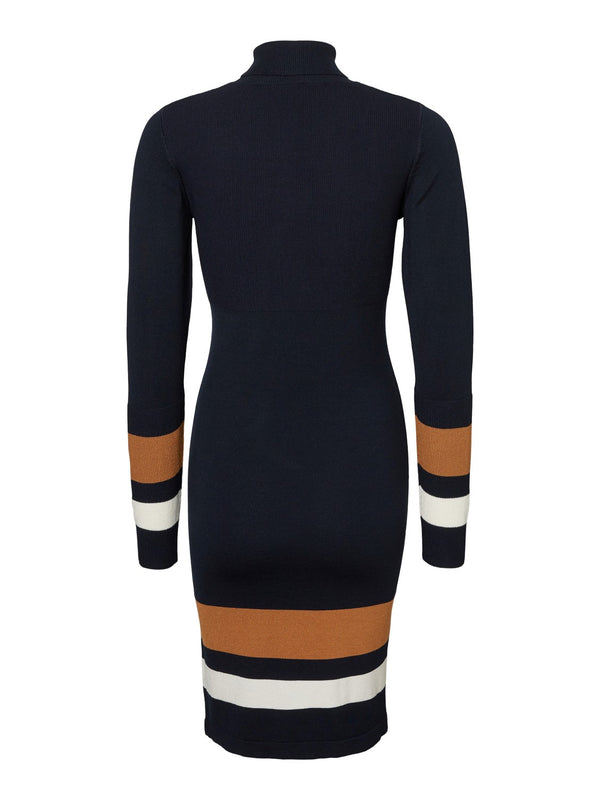 Mamalicious Jensa Roll Neck Jumper Dress