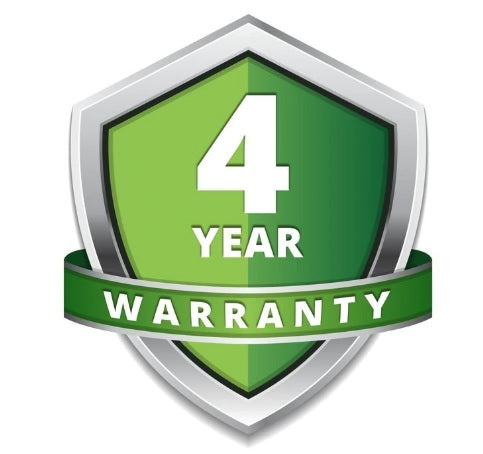 4 years extended warranty