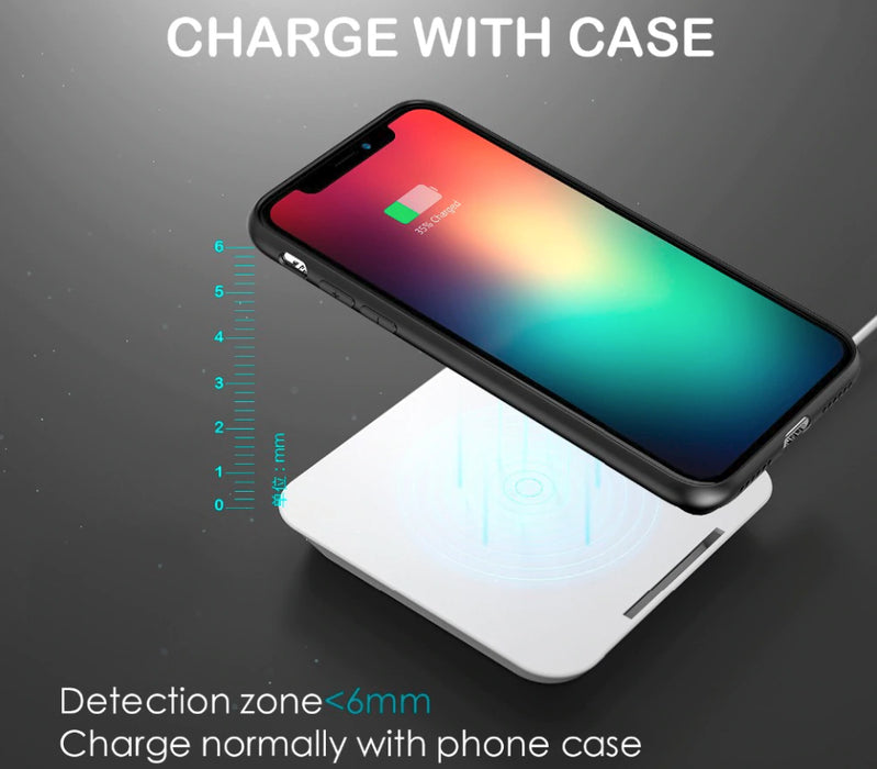 2-in-1 wireless iPhone charger