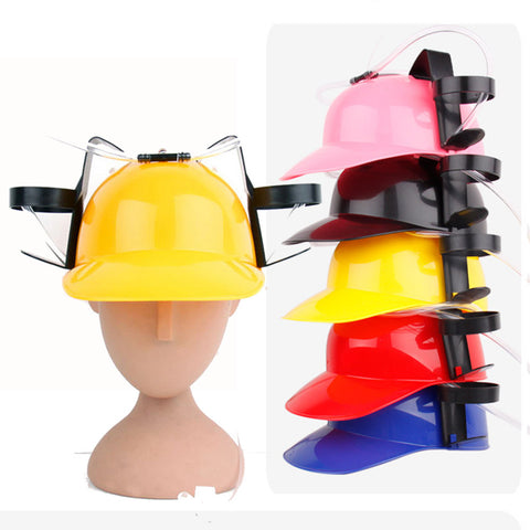 The Sesh Exotic Beer & Soda Guzzler Helmet