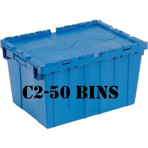 3 Bed - 2 Bath | 1130 sq ft | C2 - 50 Bins + Dolly + Kitchen Plate Caddy + 10 Days + Delivery and Pick-up - bins4moves