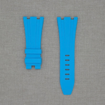 Blue Marbella 42mm AP Rubber Strap
