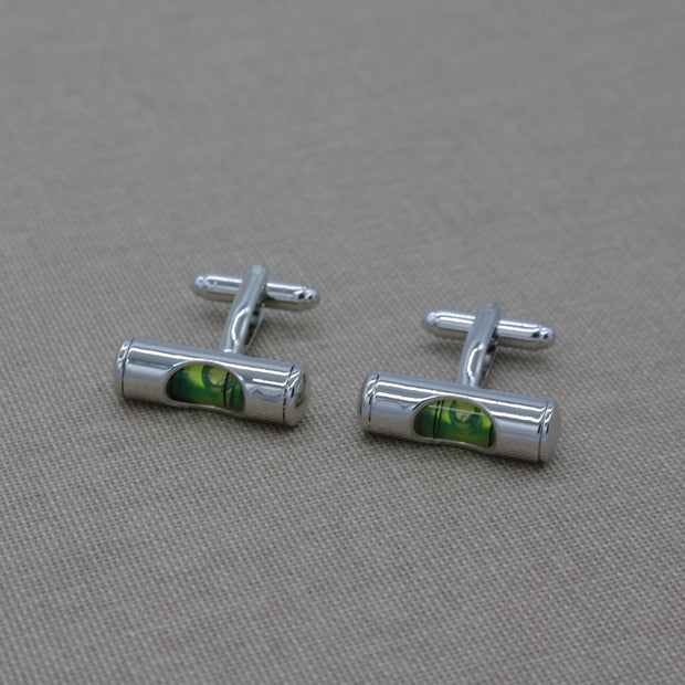 Green Liquid Cufflinks