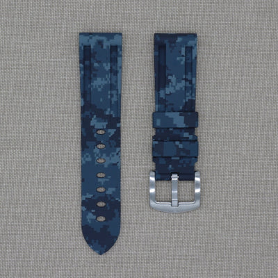 22mm Digital Camo Rubber Strap