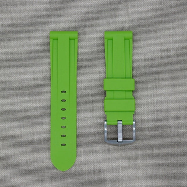 Lime Rubber Strap -iwatch-