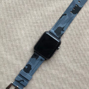 Grey Camo Rubber Strap -iwatch-