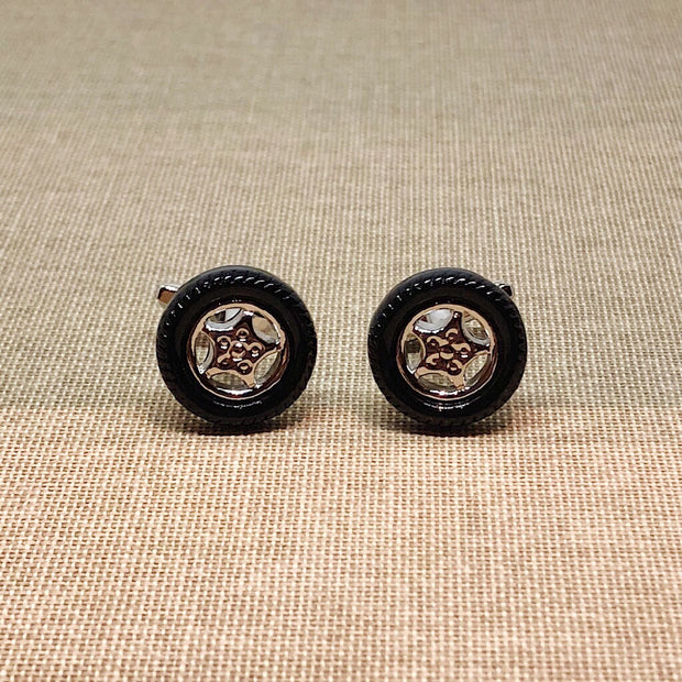 Car Wheels Cufflinks