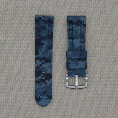 24mm Digital Camo Rubber Strap