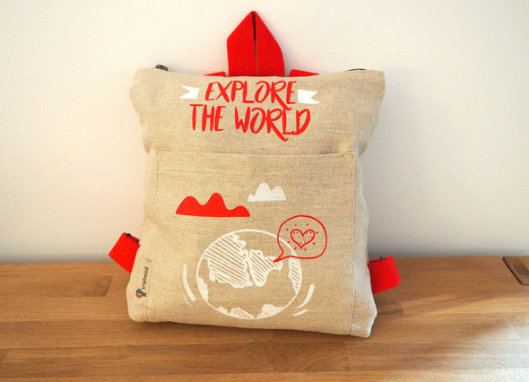 Mochila Explore the World - Triphood