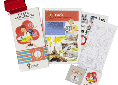 KIT DEL EXPLORADOR PARÍS - Triphood