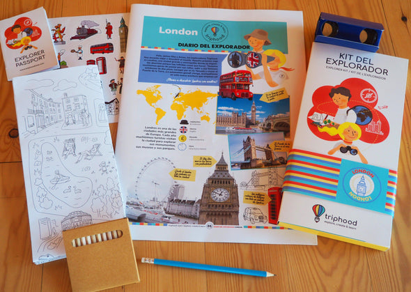 KIT DEL EXPLORADOR - LONDRES - Triphood
